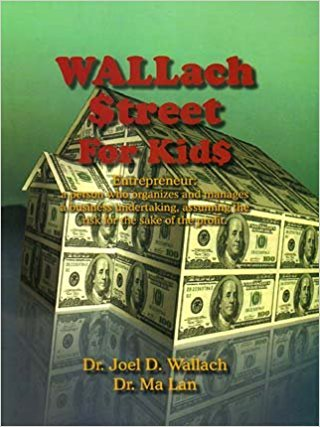 Book - Wall Street for Kids - By Dr Joel Wallach
