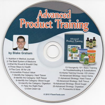 CD - Advanced Product Training - by Blake Graham