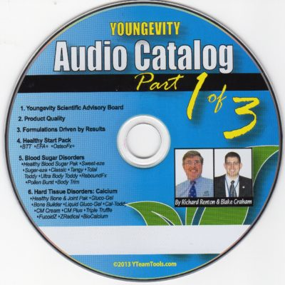CD - Audio Catalog Part 1 - by Blake Graham & Richard Renton