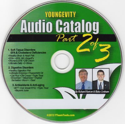 CD - Audio Catalog Part 2 - by Blake Graham & Richard Renton