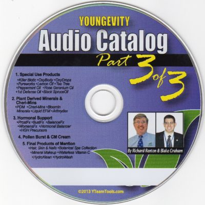 CD - Audio Catalog Part 3 - by Blake Graham & Richard Renton