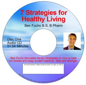 CD - 7 Strategies of Healthy Living (Double CD) - by Ben Fuchs