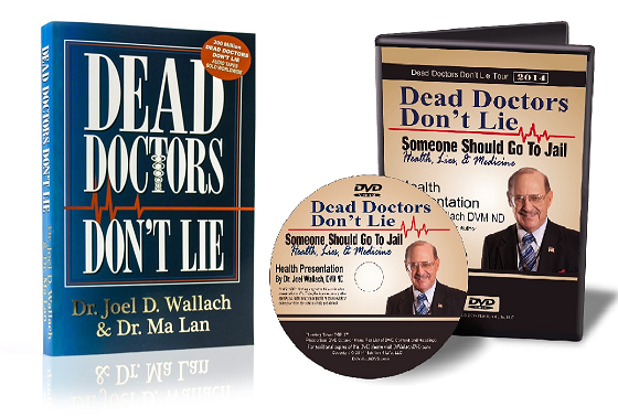 Book/DVD - Dead Doctors Don't Lie - with DVD - By Dr Joel Wallach