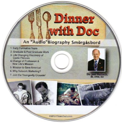 CD - Dinner With Doc - by Dr Joel Wallach