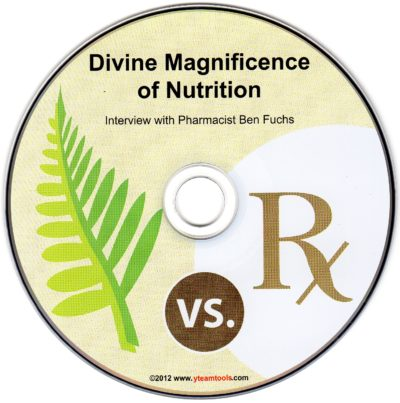 CD - Divine Magnificence of Nutrition - by Ben Fuchs
