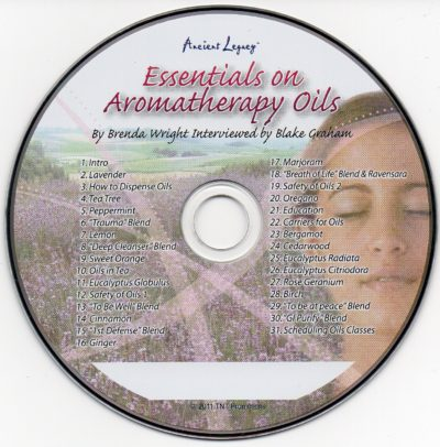 CD - Essentials on Aromatherapy Oils