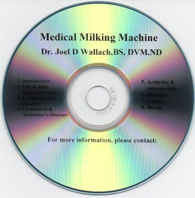 CD - Medical Milking Machine - by Dr Joel Wallach
