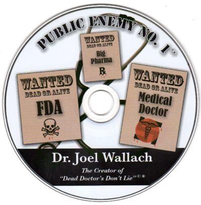 CD - Public Enemy NO. 1 - by Dr Joel Wallach