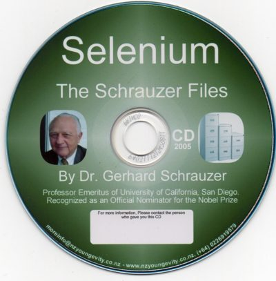 CD - Selenium - by Dr. Gerhard Schrauzer