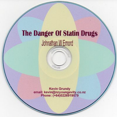 CD - The Dangers of Statins - by Johnathan W Emord