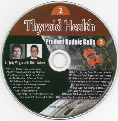 CD - Thyroid Health - by Blake Graham