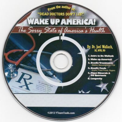 CD - Wake Up World - by Dr Joel Wallach