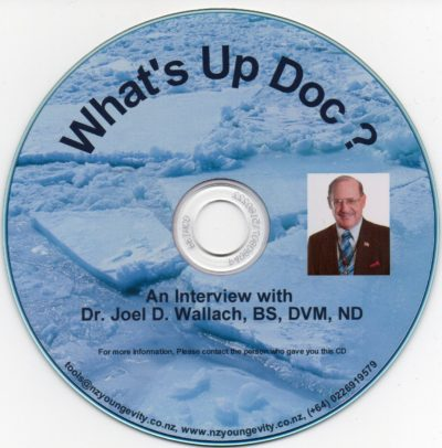 CD - What's Up Doc - by Dr Joel Wallach