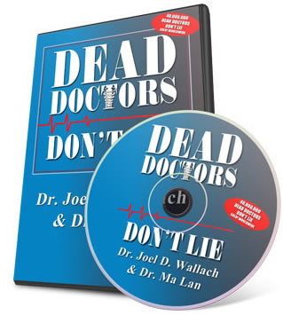 Book - Dead Doctors Don't Lie - with CD - By Dr Joel Wallach