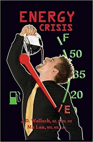 Book - Energy Crisis Book w/ CD - By Dr Joel Wallach & Dr Ma Lan