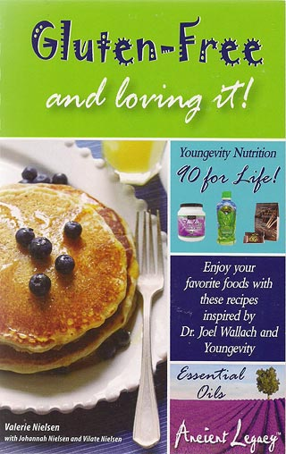 Book - Gluten-Free and Loving it - Cookbook - by Valerie Nielsen