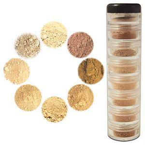 Mineral Makeup Palette NZ -- Light to Medium